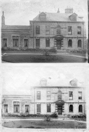 South view of Eagle House, Batheaston 1890