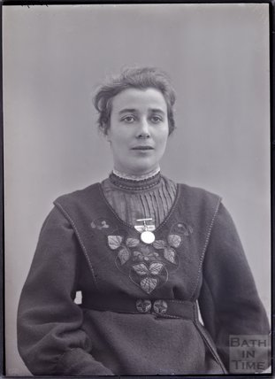 Suffragette Rose Lamartine Yates 1909