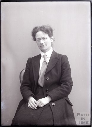 Suffragette Maud Joachim 1910