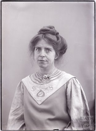 Suffragette Annie Kenney, 28 March 1909