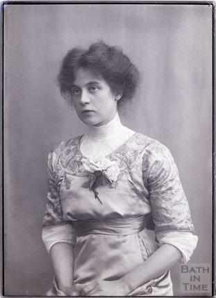 Suffragette Gladice Keevil, 4 November 1910