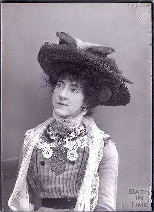 Suffragette Edith Gray Wheelwright c.1911