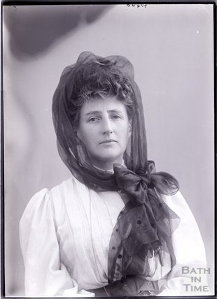 Suffragette Florence Canning 1910