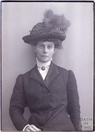 Suffragette Alice Perkins, 12 Sept 1910