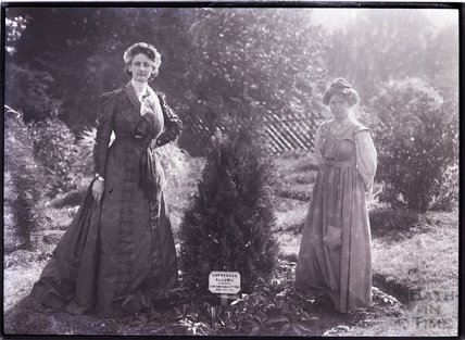 Suffragettes Lady Constance Lytton and Annie Kenney 1910