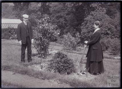 William Blathwayt and suffragette Maud Joachim 1910