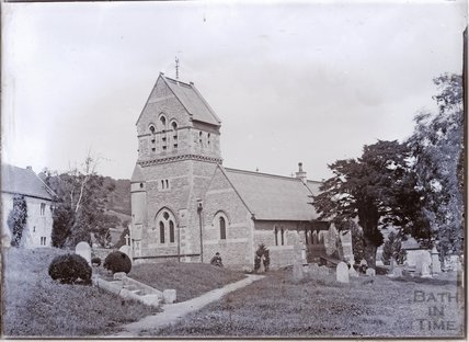 St. Michael's Church, Monkton Combe c.1902