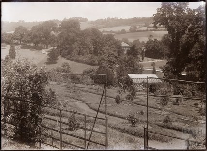 A view of Annie's arboretum and the Suffragettes' Nest c.1909