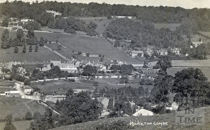Monkton Combe from across the valley c.1928