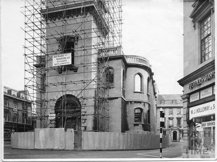 St James Church ready to be demolished 1957