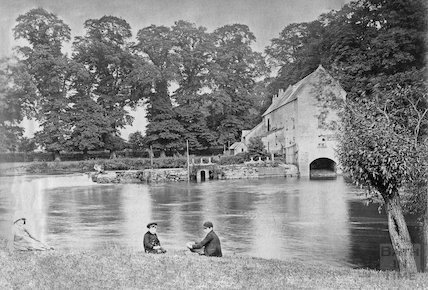 Bathampton Mill and Weir c.1890