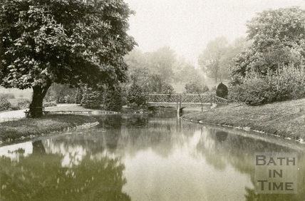 The Lake, Royal Victoria Park, Bath 1889