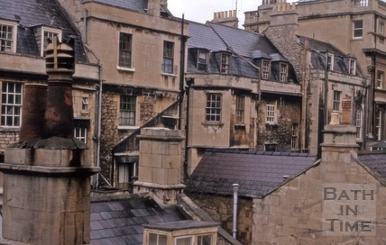 Milsom Street rear of east side 1965