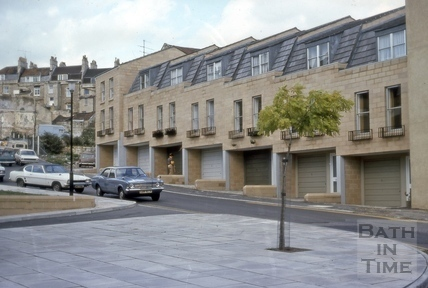 East side of Morford Street, Bath 1976