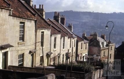 Moorfields Place, Walcot, Bath 1964