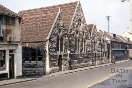 Kingsmead Infants School, Monmouth Place, Bath 1969