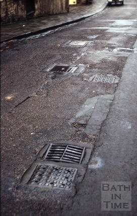 Coal holes, Morford Street, Bath 1965