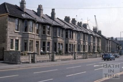 129 to 137, Lower Bristol Road (Midland Terrace), Bath 1975