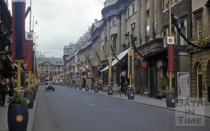 Milsom Street, Bath 1953