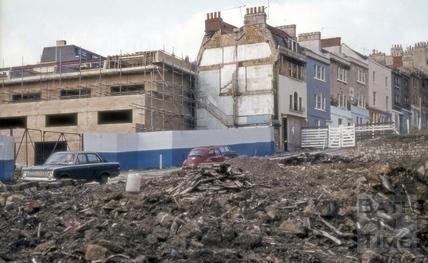 Morford Street, Bath 1974