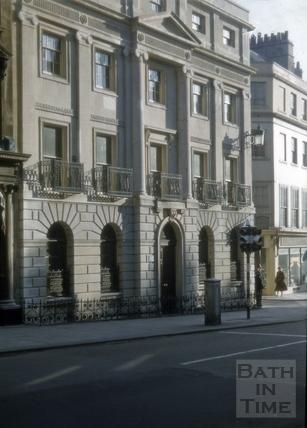 Lloyds Bank, 47, Milsom Street, Bath 1956