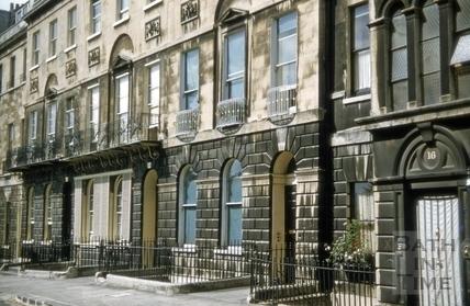 13 to 16, Marlborough Buildings, Bath 1955
