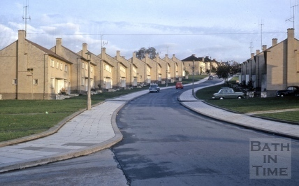 Cotswold Road, Moorlands, Bath 1962