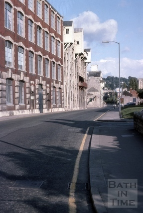 Bayer's corset factory, Lower Bristol Road, Bath 1975