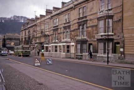 Manvers Street west side 1975