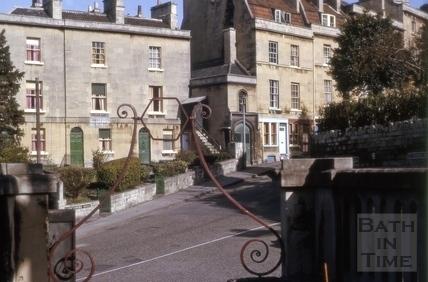 Lyncombe Hill (Lyncombe Terrace), Widcombe, Bath 1964