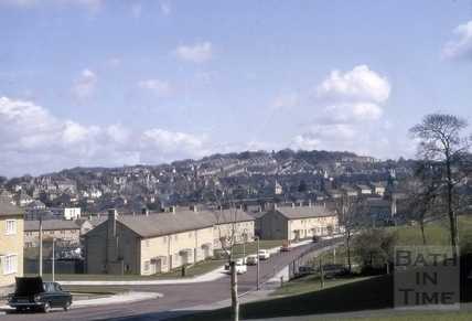 Moorfields Road, Moorlands, Bath 1970
