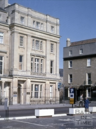 Barclays Bank, 1, Manvers Street, Bath 1979