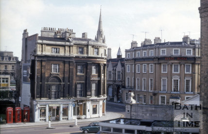 Manvers Street and Railway Place, Bath 1970