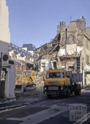 Morford Street, Bath 1972