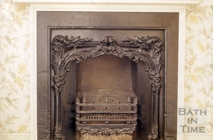 Lower Bristol Road Roseberry Place No3 fireplace 1964