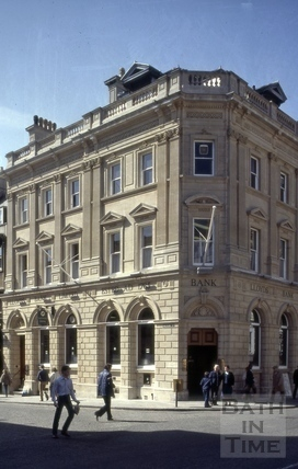 Lloyds Bank, 23, Milsom Street, Bath 1981