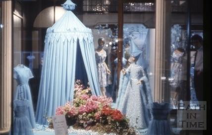 Window display, Jolly's Department Store, Milsom Street, Bath 1965