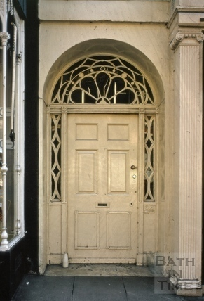 Doorway, 33, Milsom Street, Bath 1975