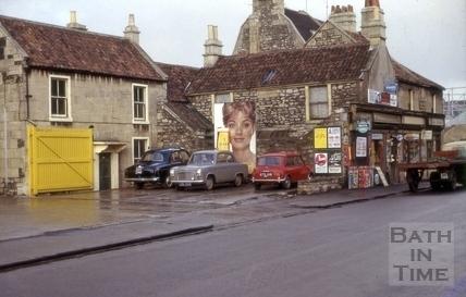 Charlton Buildings, Lower Bristol Road, West Twerton, Bath 1964