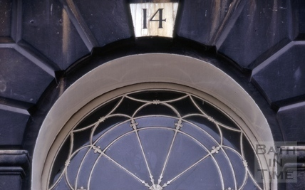 Fanlight, 14, Marlborough Buildings, Bath 1972