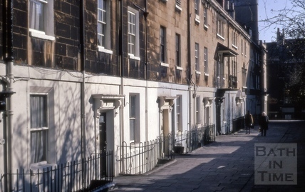Miles's Buildings, Bath  1969