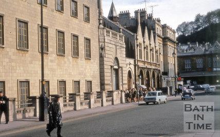 Manvers Street, Bath 1969