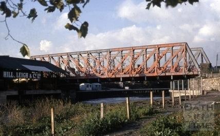 Midland Bridge, Bath 1969