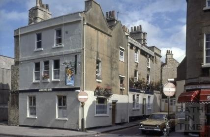 The Griffin Inn, 1, Princes Street, Bath 1980