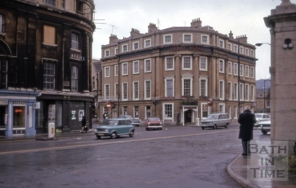 Berni Royal Hotel, Railway Place, Bath 1975
