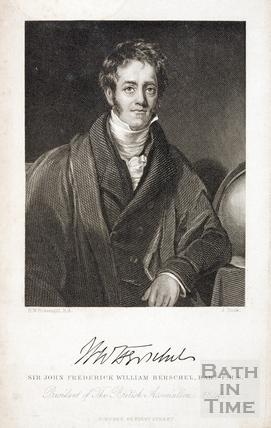 Sir John Frederick William Herschel (1792 - 1871), Bart F.R.S.