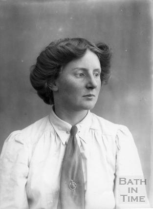 Suffragette Charlotte Marsh 1911