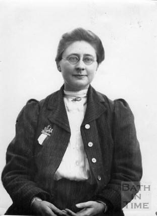 Suffragette Mary Blathwayt c.1909
