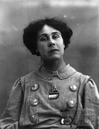 Suffragette Mary Phillips c.1908 - 1912
