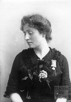Suffragette Winifred Jones 1911
